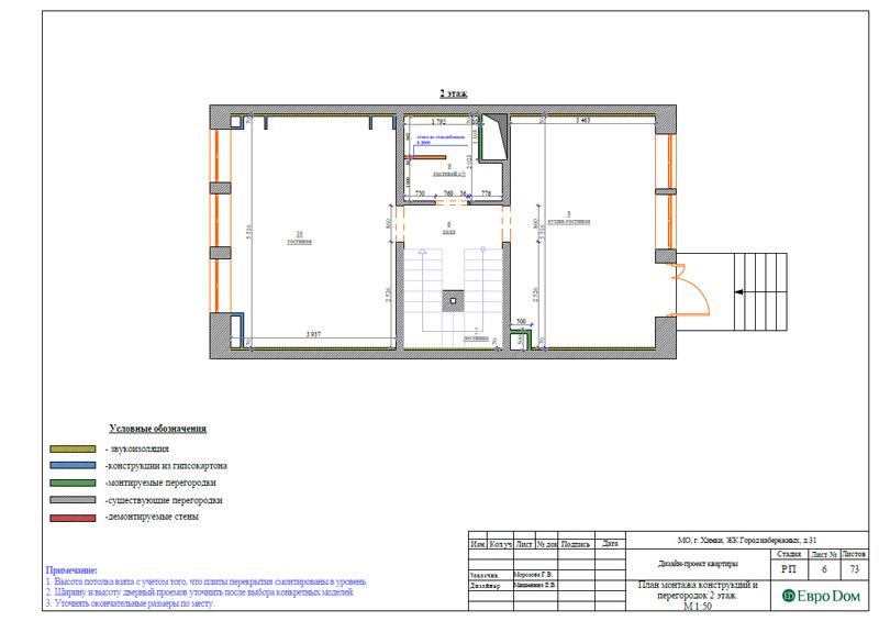 Дизайн интерьера таунхауса 126 кв. м в современном стиле. Фото 032