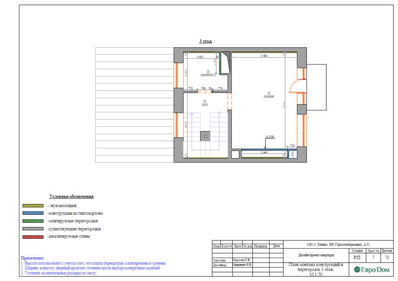 Дизайн интерьера таунхауса 126 кв. м в современном стиле. Фото 033