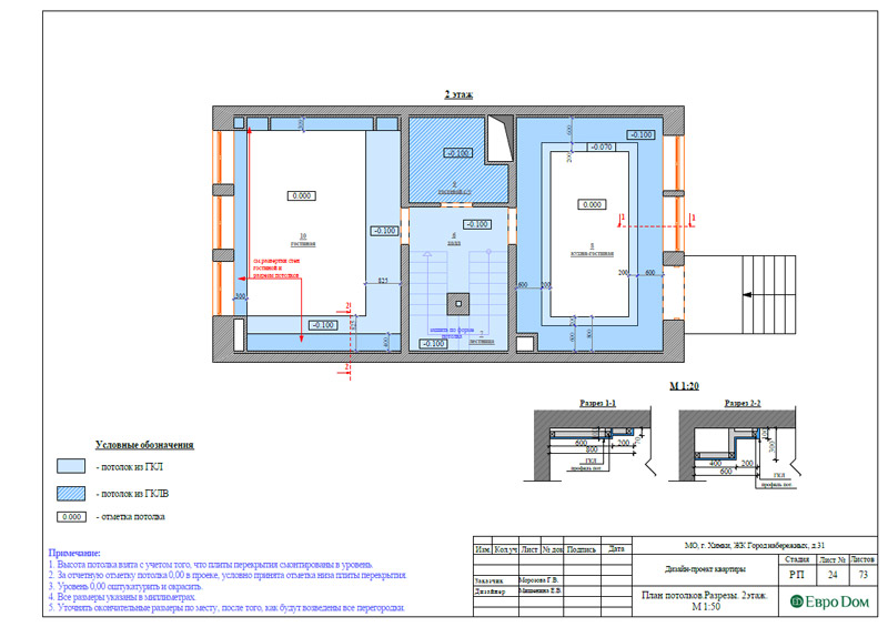 Дизайн интерьера таунхауса 126 кв. м в современном стиле. Фото 050