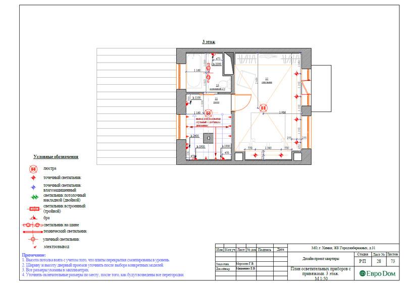 Дизайн интерьера таунхауса 126 кв. м в современном стиле. Фото 054