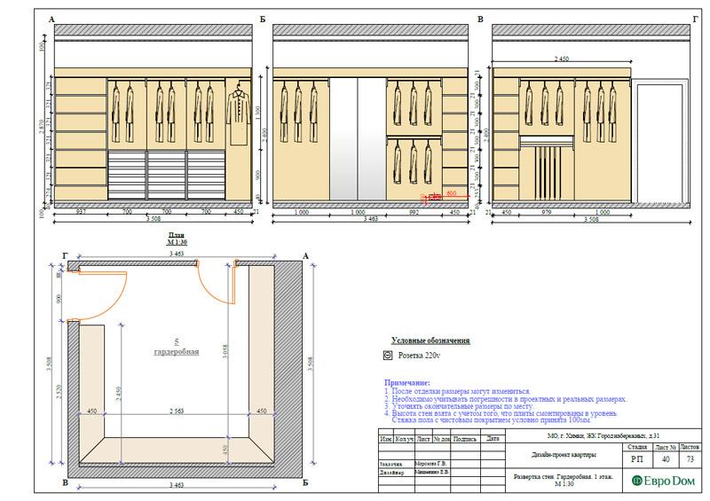 Дизайн интерьера таунхауса 126 кв. м в современном стиле. Фото 067