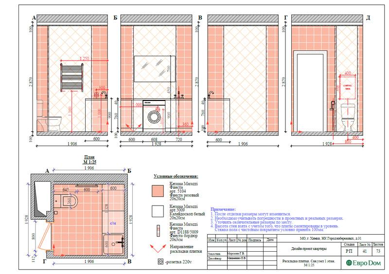 Дизайн интерьера таунхауса 126 кв. м в современном стиле. Фото 068