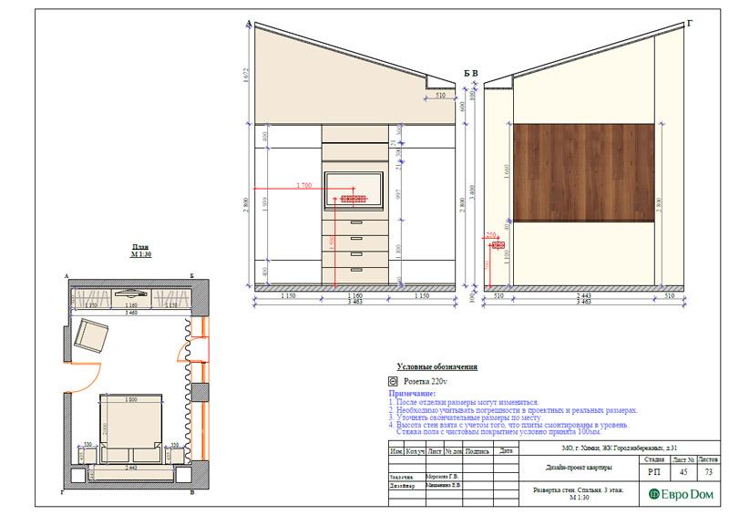 Дизайн интерьера таунхауса 126 кв. м в современном стиле. Фото 072