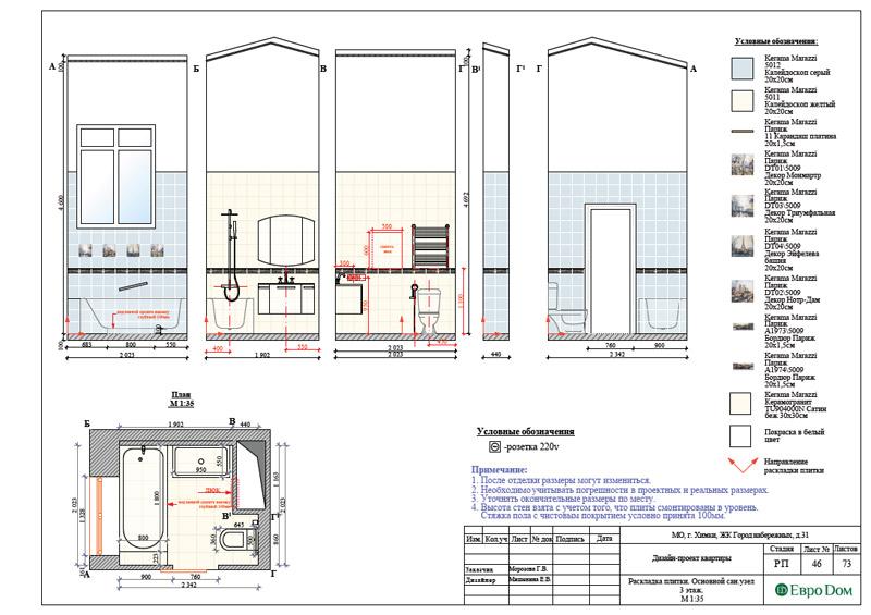 Дизайн интерьера таунхауса 126 кв. м в современном стиле. Фото 073