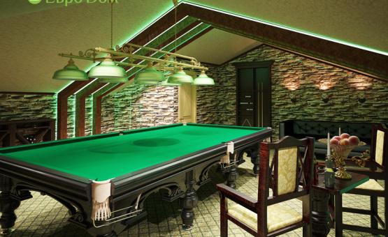 Дизайн интерьера таунхауса 210 кв.м. по адресу МО, Коттеджный посёлок «Скипер». Фото 1