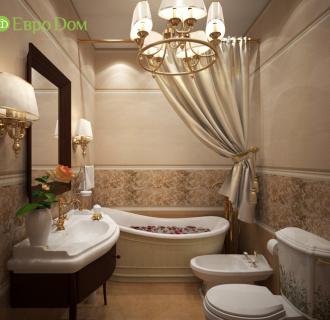 Дизайн таунхауса 210 кв. м в стиле ар-деко. Фото проекта