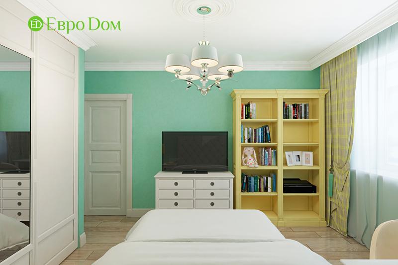 Дизайн трехкомнатной квартиры 79 кв. м в английском стиле. Фото 010