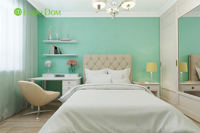 Дизайн трехкомнатной квартиры 79 кв. м в английском стиле. Фото 012