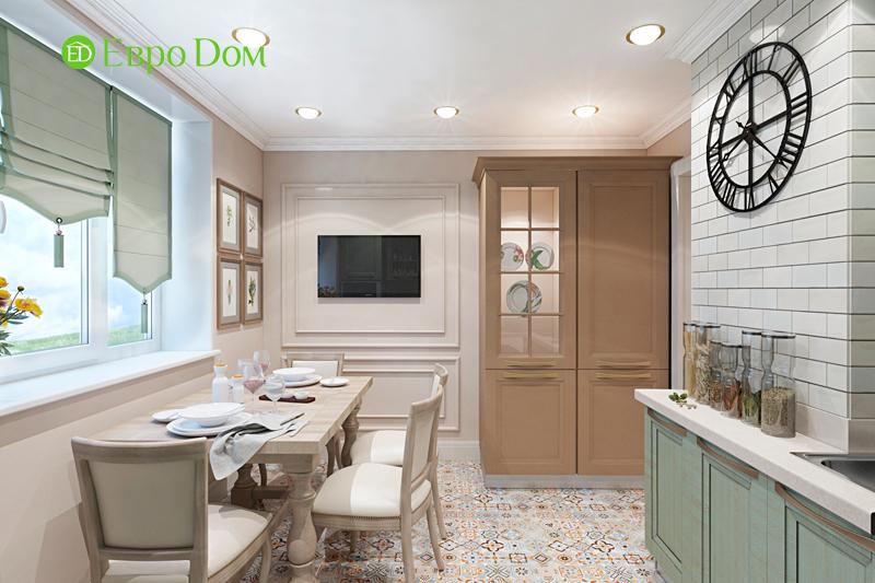 Дизайн трехкомнатной квартиры 79 кв. м в английском стиле. Фото 016