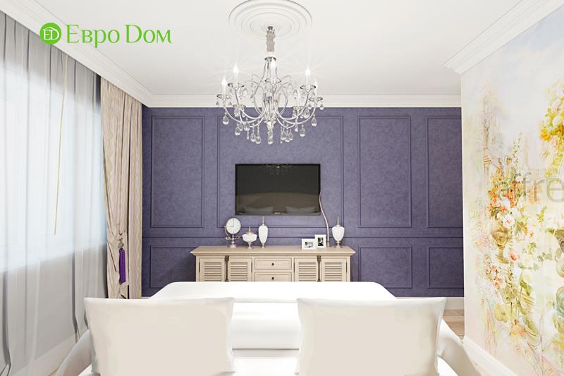 Дизайн трехкомнатной квартиры 79 кв. м в английском стиле. Фото 022