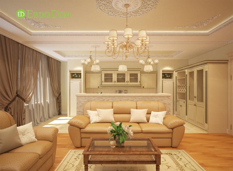 Дизайн 3-комнатной квартиры в классическом стиле. Фото 03
