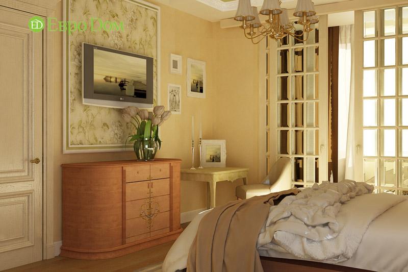 Дизайн 3-комнатной квартиры в классическом стиле. Фото 04