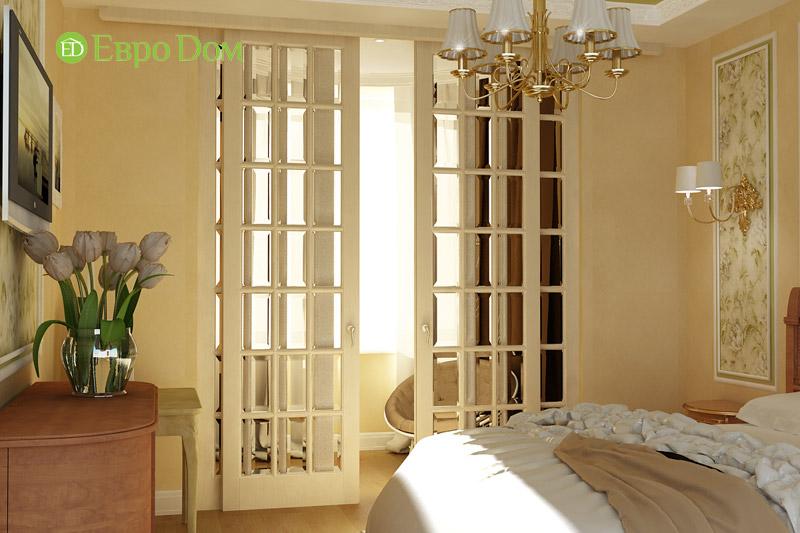 Дизайн 3-комнатной квартиры в классическом стиле. Фото 06