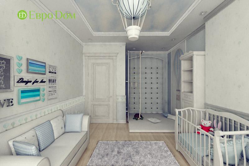 Дизайн 3-комнатной квартиры в классическом стиле. Фото 010