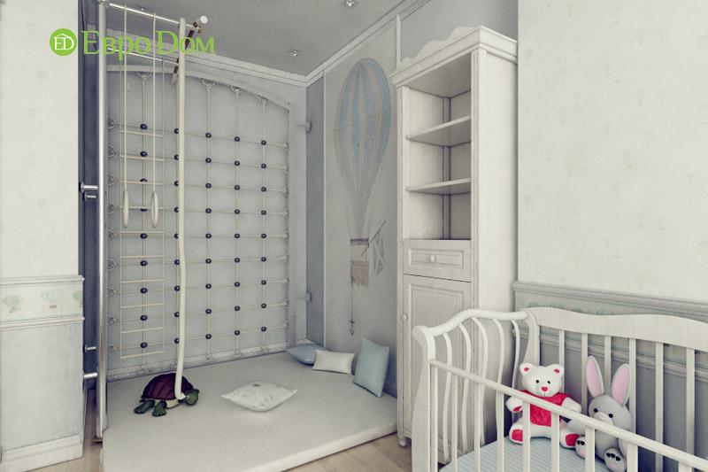 Дизайн 3-комнатной квартиры в классическом стиле. Фото 011