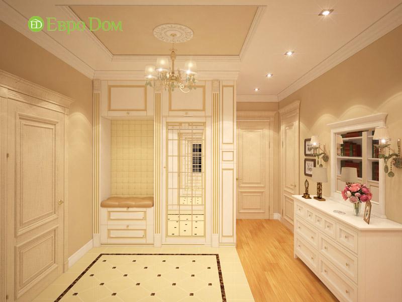Дизайн 3-комнатной квартиры в классическом стиле. Фото 013