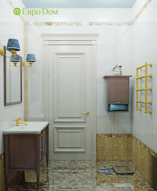 Дизайн 3-комнатной квартиры в классическом стиле. Фото 016