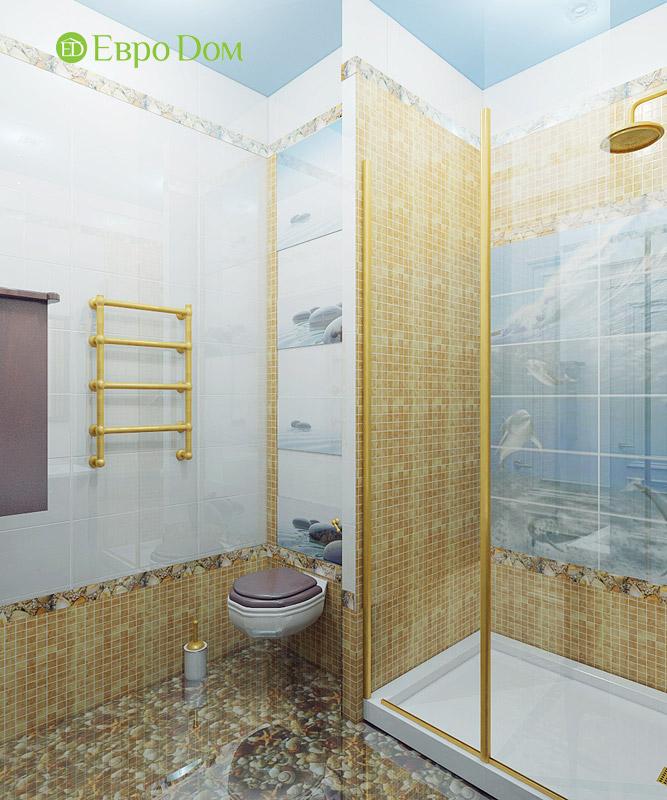 Дизайн 3-комнатной квартиры в классическом стиле. Фото 017