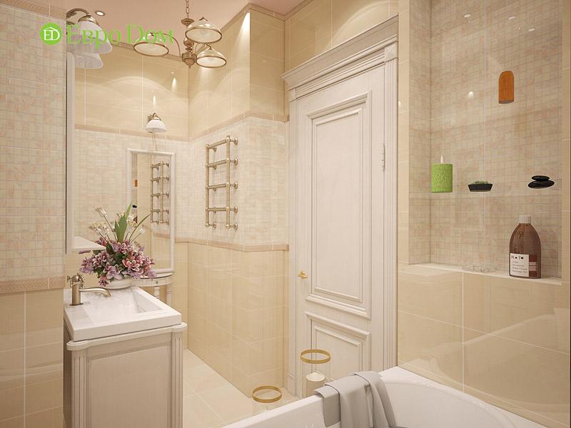 Дизайн 3-комнатной квартиры в классическом стиле. Фото 019