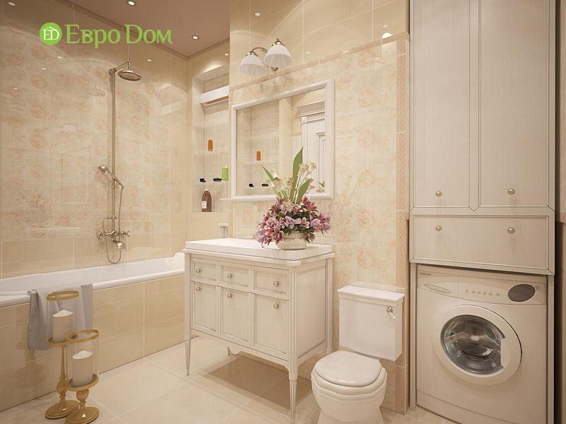 Дизайн 3-комнатной квартиры в классическом стиле. Фото 020