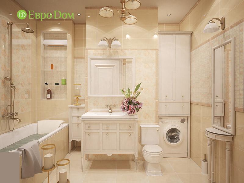 Дизайн 3-комнатной квартиры в классическом стиле. Фото 022