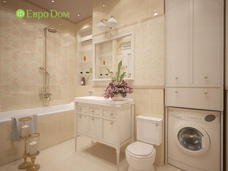 Дизайн 3-комнатной квартиры в классическом стиле. Фото 023