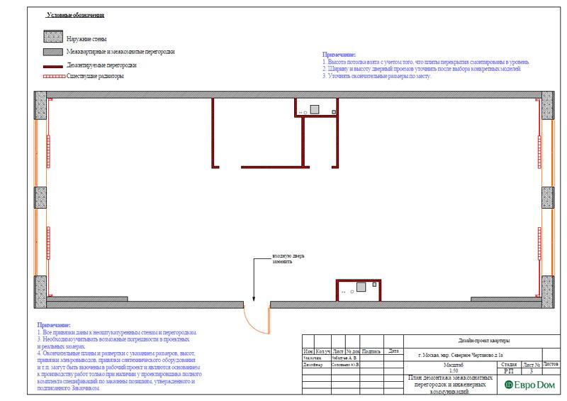 Дизайн 3-комнатной квартиры в классическом стиле. Фото 026