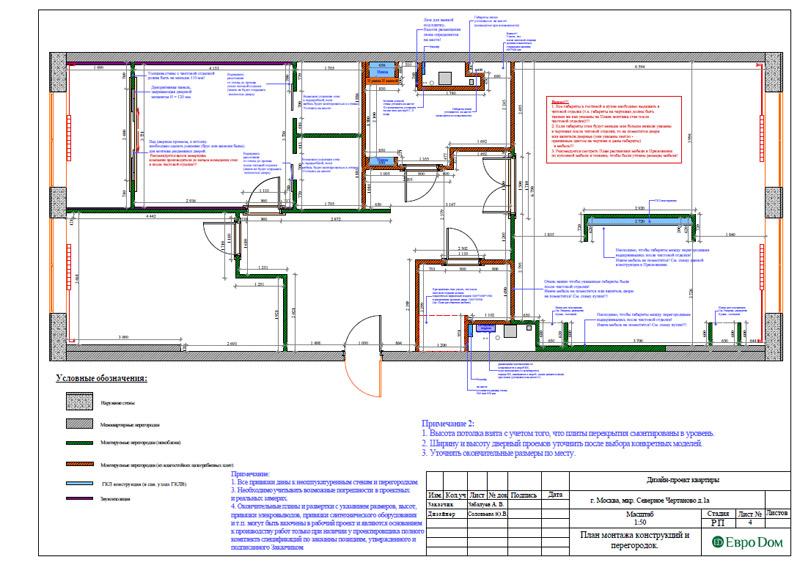 Дизайн 3-комнатной квартиры в классическом стиле. Фото 027