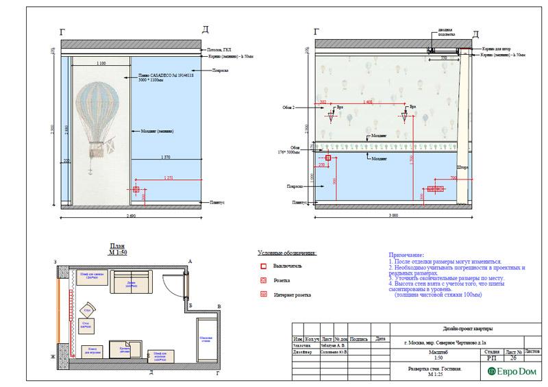 Дизайн 3-комнатной квартиры в классическом стиле. Фото 041