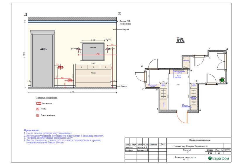 Дизайн 3-комнатной квартиры в классическом стиле. Фото 042