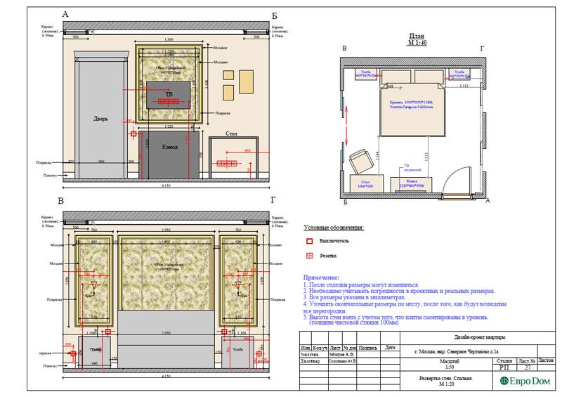Дизайн 3-комнатной квартиры в классическом стиле. Фото 044