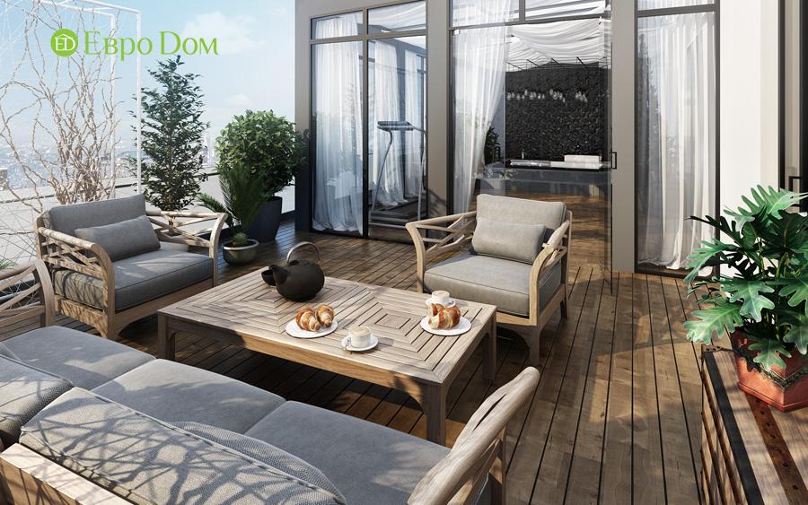 Дизайн 3-комнатной квартиры 193 кв. м в современном стиле. Фото 06
