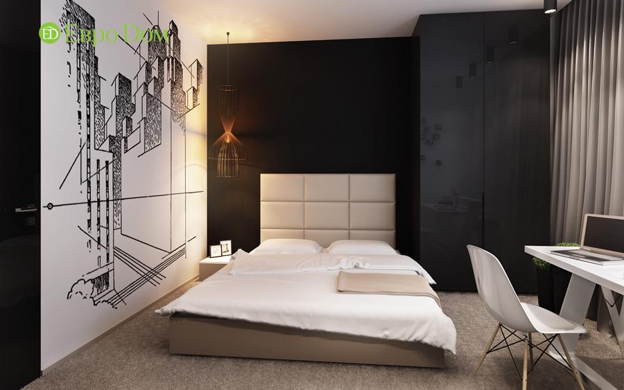 Дизайн 3-комнатной квартиры 193 кв. м в современном стиле. Фото 07