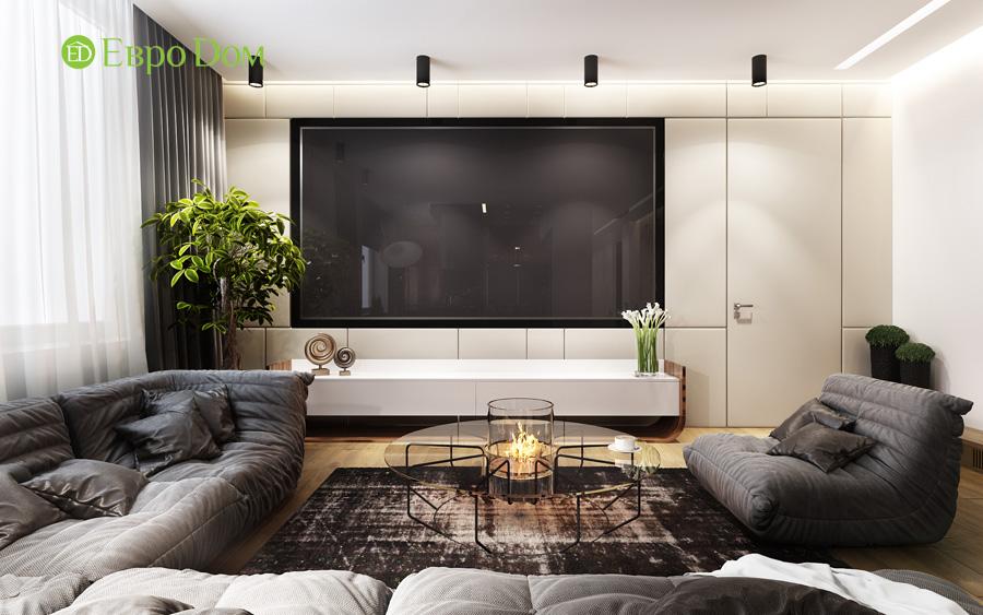 Дизайн 3-комнатной квартиры 193 кв. м в современном стиле. Фото 010