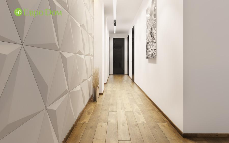 Дизайн 3-комнатной квартиры 193 кв. м в современном стиле. Фото 011
