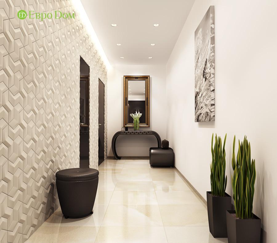Дизайн 3-комнатной квартиры 193 кв. м в современном стиле. Фото 012