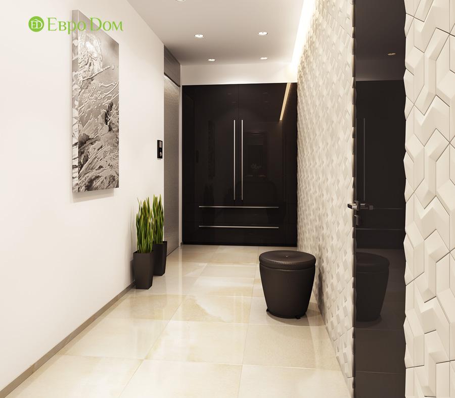 Дизайн 3-комнатной квартиры 193 кв. м в современном стиле. Фото 013