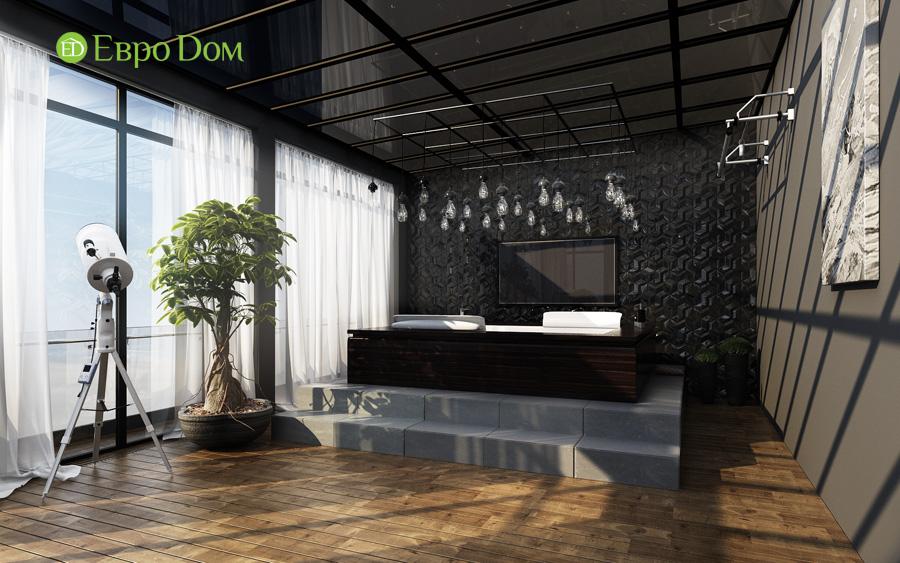 Дизайн 3-комнатной квартиры 193 кв. м в современном стиле. Фото 015