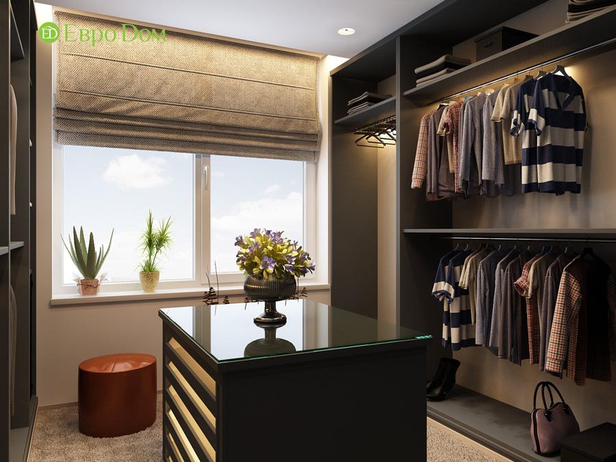 Дизайн 3-комнатной квартиры 193 кв. м в современном стиле. Фото 018