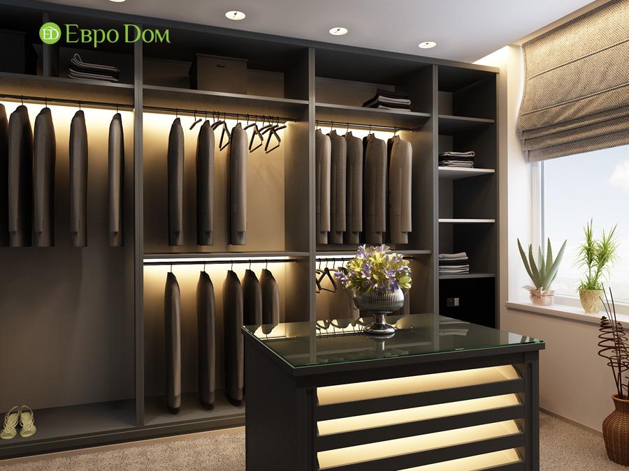 Дизайн 3-комнатной квартиры 193 кв. м в современном стиле. Фото 019