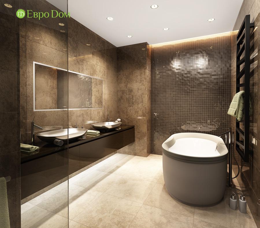 Дизайн 3-комнатной квартиры 193 кв. м в современном стиле. Фото 021