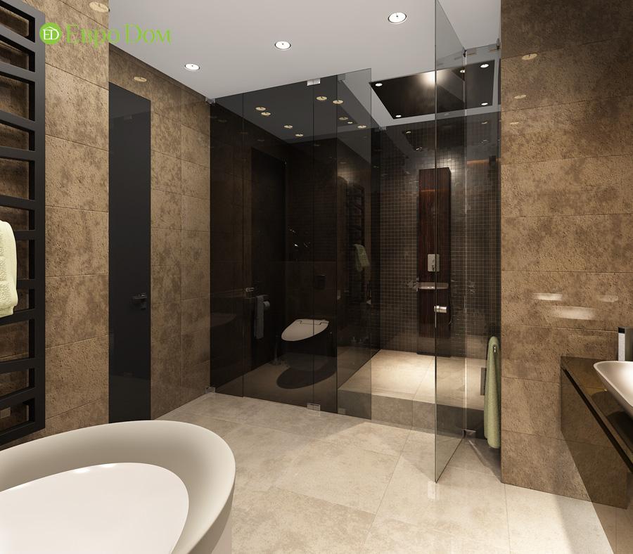 Дизайн 3-комнатной квартиры 193 кв. м в современном стиле. Фото 022