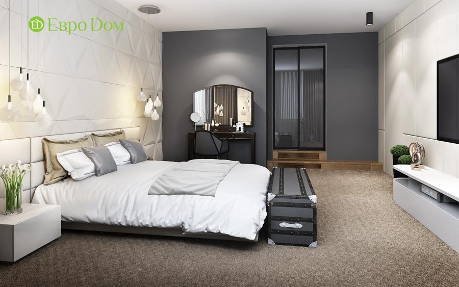 Дизайн 3-комнатной квартиры 193 кв. м в современном стиле. Фото 023