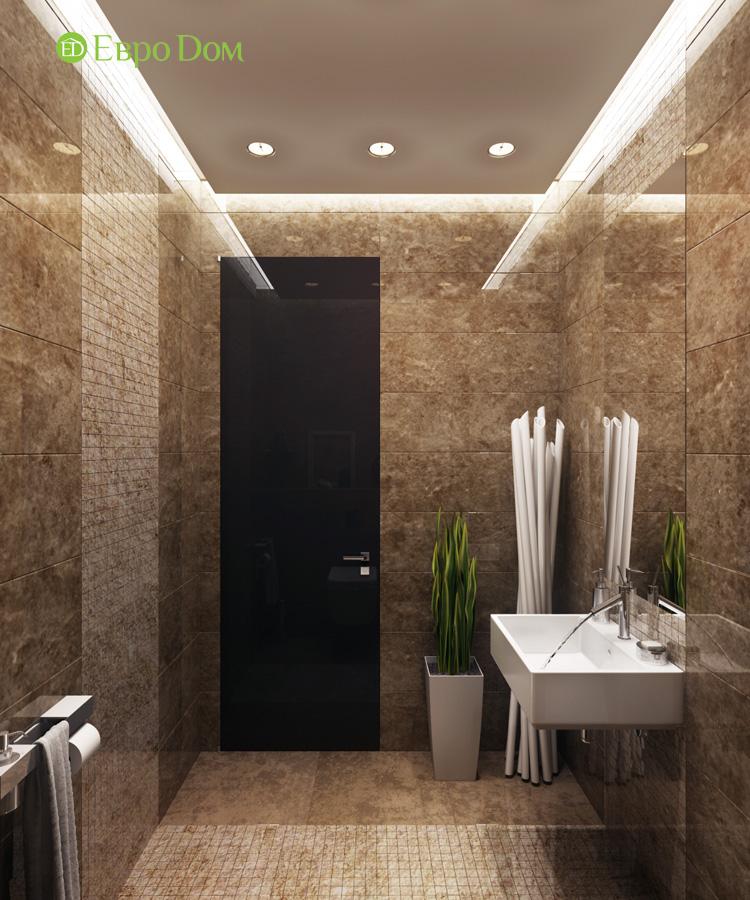 Дизайн 3-комнатной квартиры 193 кв. м в современном стиле. Фото 024