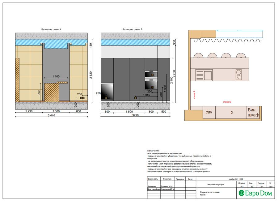 Дизайн 3-комнатной квартиры 193 кв. м в современном стиле. Фото 042