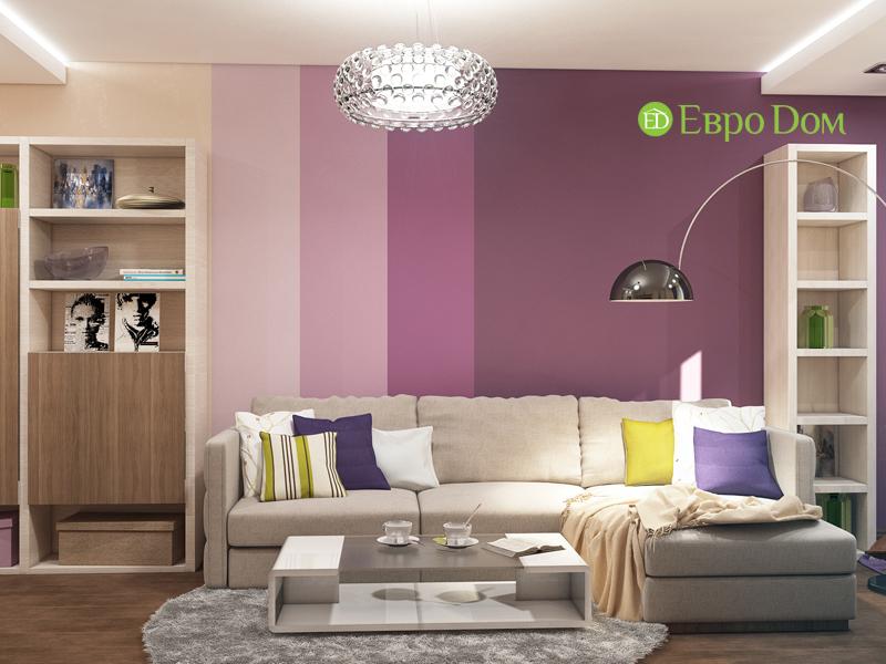 Дизайн трехкомнатной квартиры 67 кв. м в современном стиле. Фото 02
