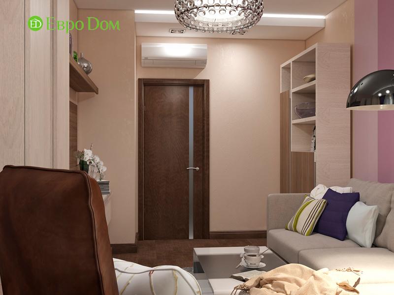 Дизайн трехкомнатной квартиры 67 кв. м в современном стиле. Фото 05