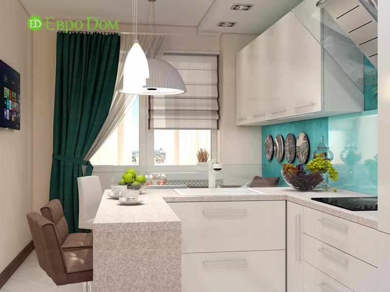 Дизайн трехкомнатной квартиры 67 кв. м в современном стиле. Фото 08