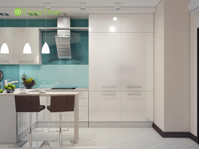 Дизайн трехкомнатной квартиры 67 кв. м в современном стиле. Фото 09