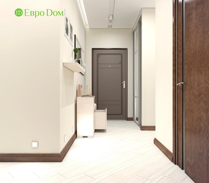 Дизайн трехкомнатной квартиры 67 кв. м в современном стиле. Фото 012